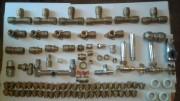 Продаю соединения для металлопластиковых труб, резьбы, краны