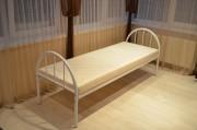 Металлические кровати, односпальные кровати, двухъярусные кровати