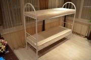 Односпальные кровати. Двухъярусные металлические кровати.