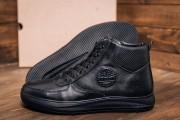 Кожаные зимние мужские ботинки. Харьковская обувь.