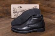 Кожаные зимние мужские туфли. Харьковская обувь.