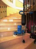Шлифовка, полировка мраморных, гранитных полов, лестниц, стен и др.