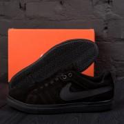 Мужские Замшевые Кроссовки Nike Black
