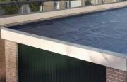 Ремонт крыши и козырька балкона